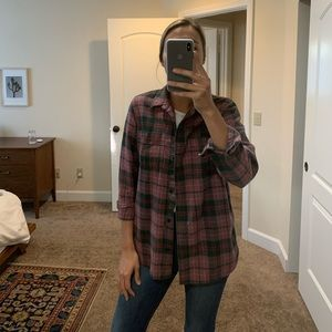 Madewell Classic ExBoyfriend Flannel in Nona Plaid